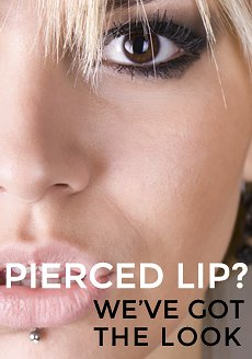 Pierced Lip? Check out our range of Body Jewellery