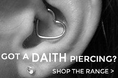 After Body Jewellery for Daith Piercings?