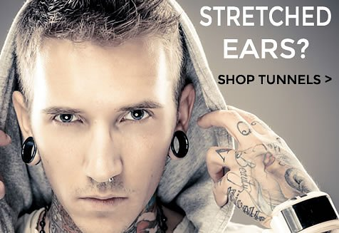 Shop our range of Ear Plugs & Tunnels for stretched ears