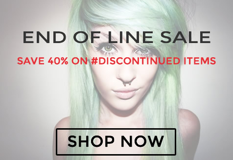 Save 40% on #Discontinued items