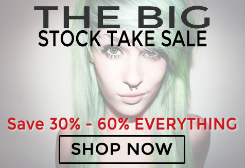 The BIG Stock Take Sale. Save 30% to 40% Storewide