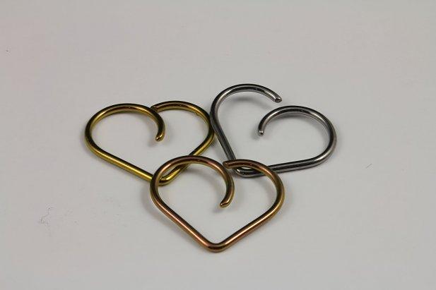 14g & 18g Niobium Hearts