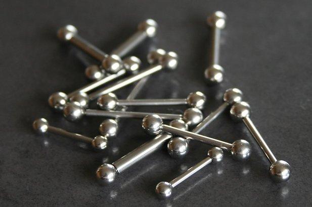 Image of Internally Threaded Barbells body piercing jewellery NZ