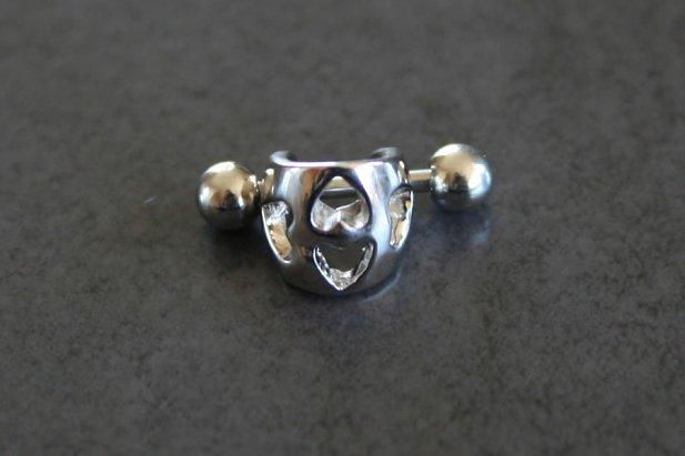 Image of Carved Ear Cuff body piercing jewellery NZ