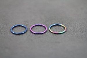 16g Titanium Segment Ring