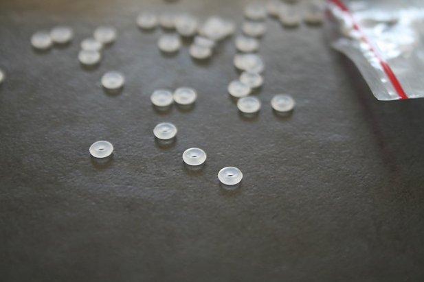 Image of Clear O-Rings body piercing jewellery NZ