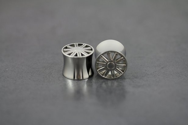 Image of MAG Wheel Plugs body piercing jewellery NZ