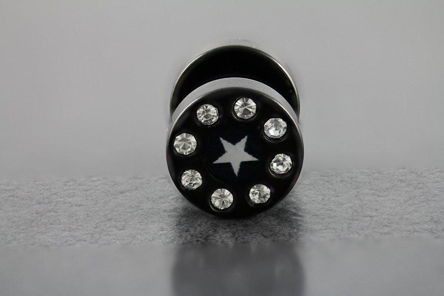 Image of 8 Stone and Star Fake Plug