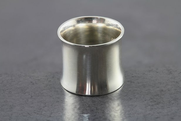 Image of Sterling Silver Flared Tunnel body piercing jewellery NZ