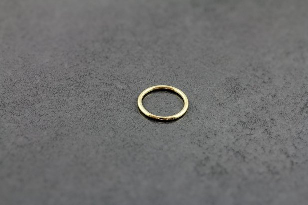 Image of 14ct Yellow Gold Seamless Rings body piercing jewellery NZ