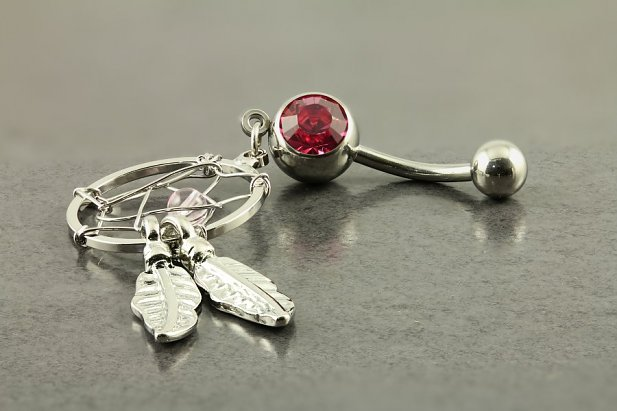 Image of Dream Catcher Belly Ring body piercing jewellery NZ