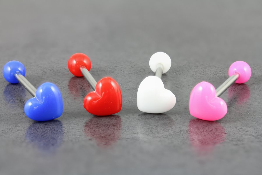 Image of 3D Heart Tongue Bar