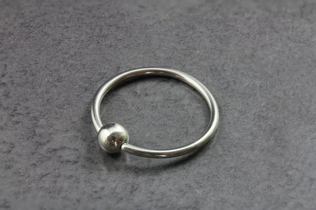 Image of Plain Captive Bead Ring body piercing jewellery NZ