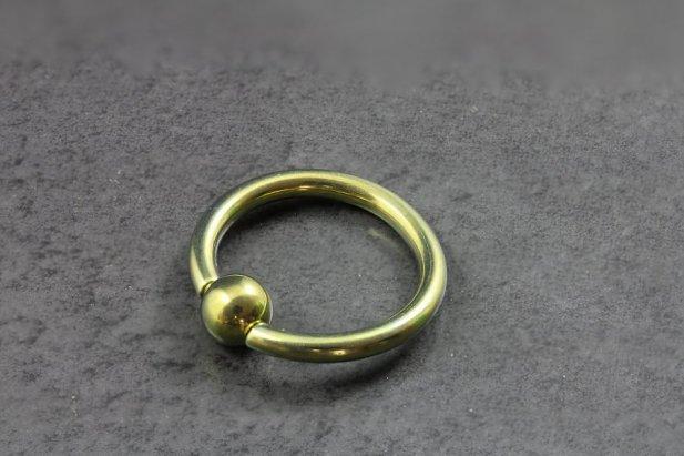 Image of Titanium Captive Bead Rings body piercing jewellery NZ