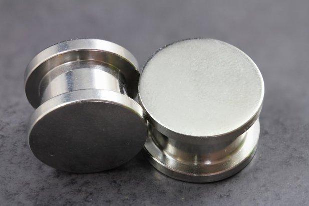 Image of Stash Hollow Screw On Plugs body piercing jewellery NZ