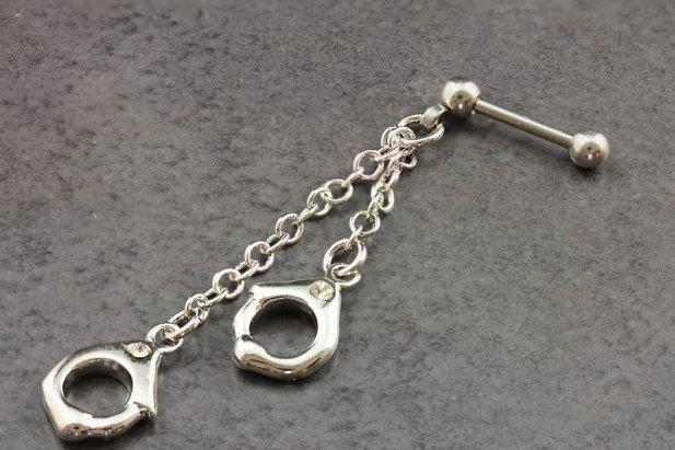 Image of Handcuff Helix Piercing body piercing jewellery NZ