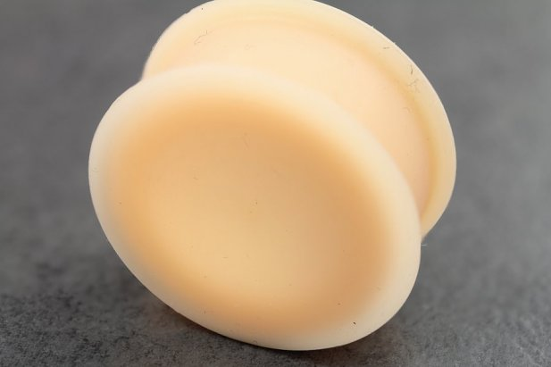 Image of Flesh Coloured Silicone Plugs body piercing jewellery NZ