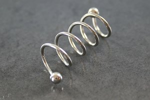 4 Hoop Twister Industrial Barbell
