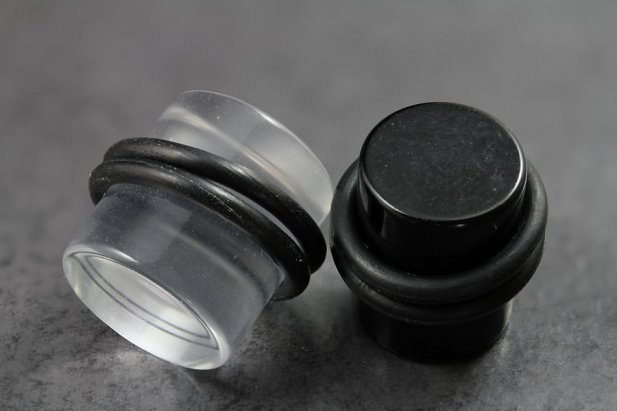 Acrylic Plugs with O-Rings
