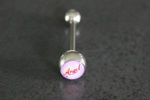 Angel Logo Barbell