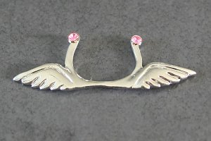 Angel Wings Non-Pierce Nipple Ring