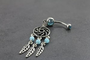 Antique Dream Catcher Belly Bar