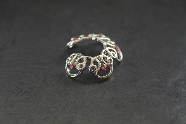 Celtic Design Nipple Ring