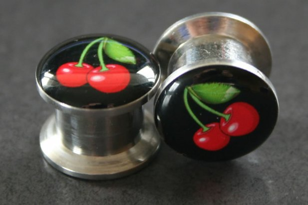 Cherries Logo Ear Plugs