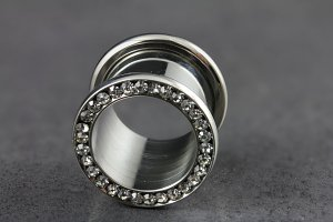 Crystal Stone Threaded Tunnel