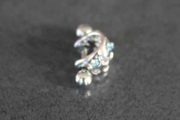 Cubic Zirconia Ear Cuff