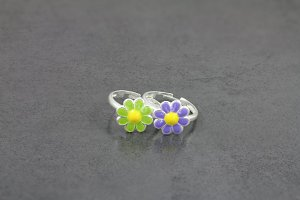 Cute Daisy Toe Ring
