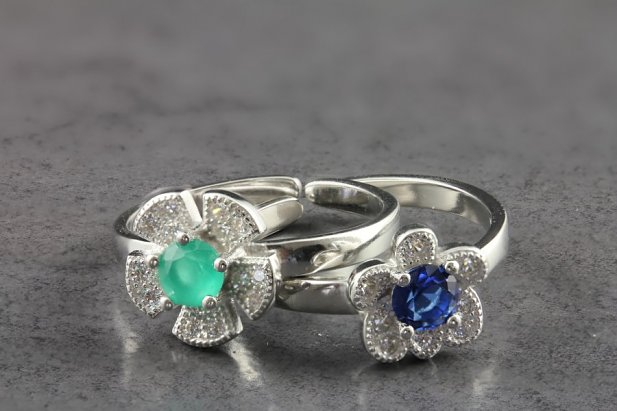 CZ Flower Toe Ring