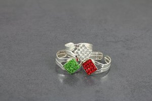 Diamond Design Toe Ring