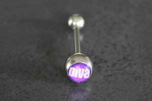 Diva Logo Tongue Bar