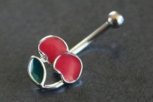 Enamel Cherries Eyebrow Bar