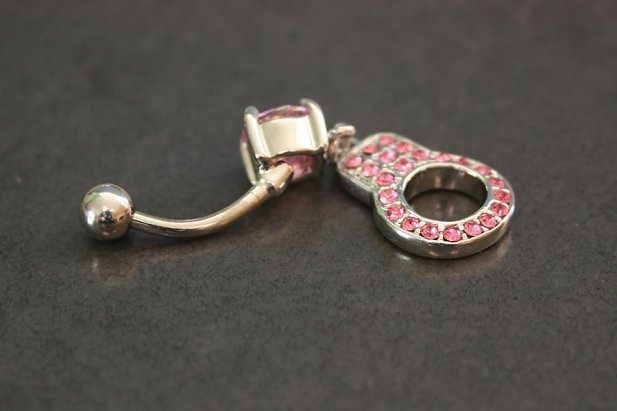 Gem Handcuff Belly Ring