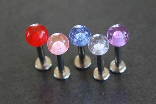 Glitter Ball Labrets