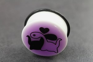 Glow in the Dark Dinosaur Love Plug