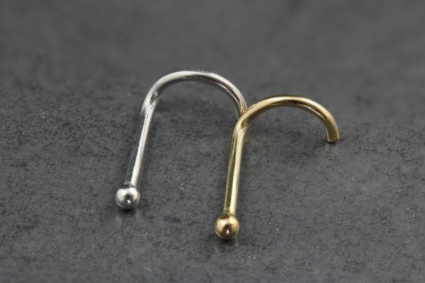 Gold Ball Nose Screw