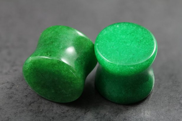 Green Stone Plug