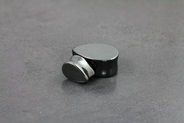 Hematite Tear Drop Plug
