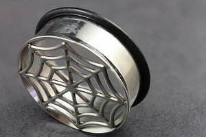 Impression Spiders Web Plugs