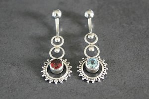 Indonesian Circle Belly Ring
