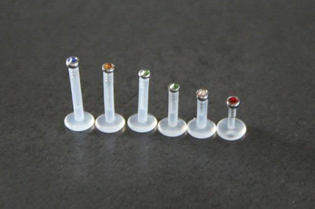Jeweled Bioflex Labrets