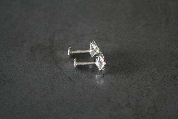 Jeweled Spike Labrets