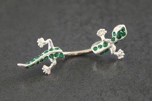 Jeweled Split Gecko Belly Ring