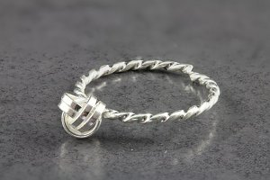 Love Knot Toe Ring