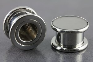 Mirror Threaded Plug