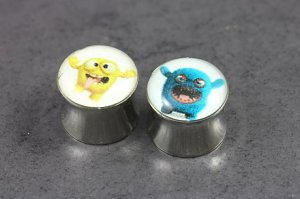 Monster Logo Plugs