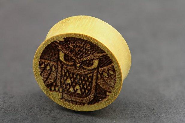 Owl Print Jackfruit Plugs